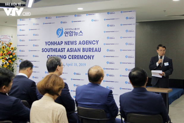Yonhap inaugurates Southeast Asian office in Hanoi hinh anh 2