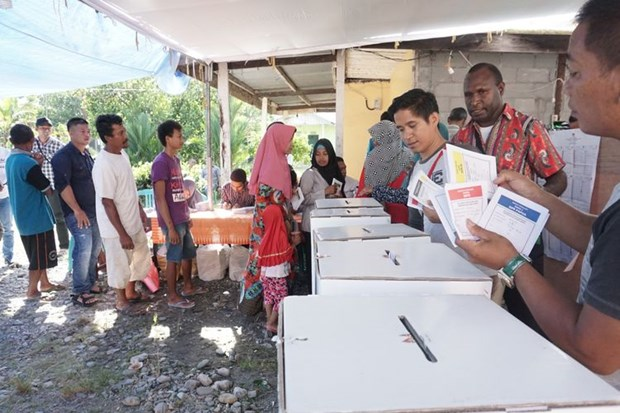 Indonesian election: polling organisers, police in Papua attacked hinh anh 1