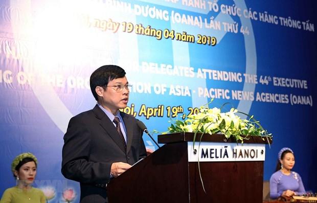 OANA – a prestigious journalism forum: Hanoi leader hinh anh 1