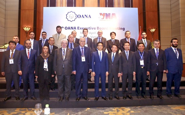 OANA Executive Board convenes 44th meeting in Hanoi hinh anh 1