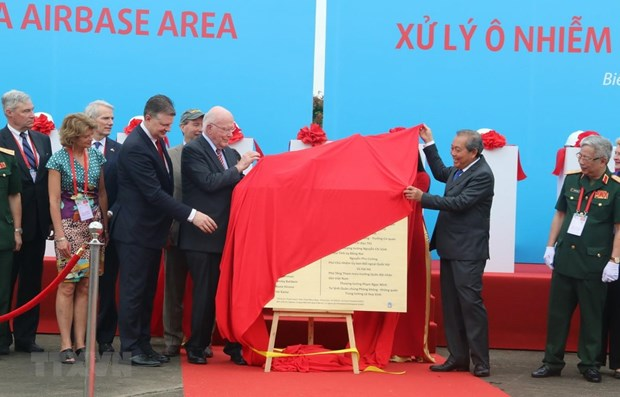 Bien Hoa airport dioxin cleanup project launched hinh anh 1