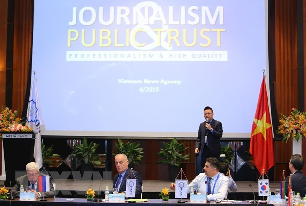News agencies highlight 44th OANA Executive Board Meeting hinh anh 1