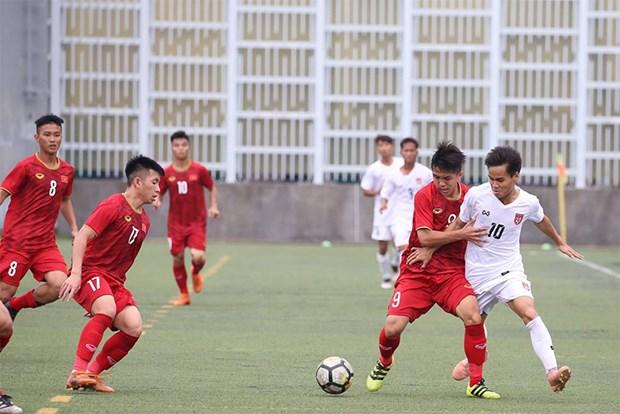 Vietnam temporarily rank second at Hong Kong U18 tournament hinh anh 1