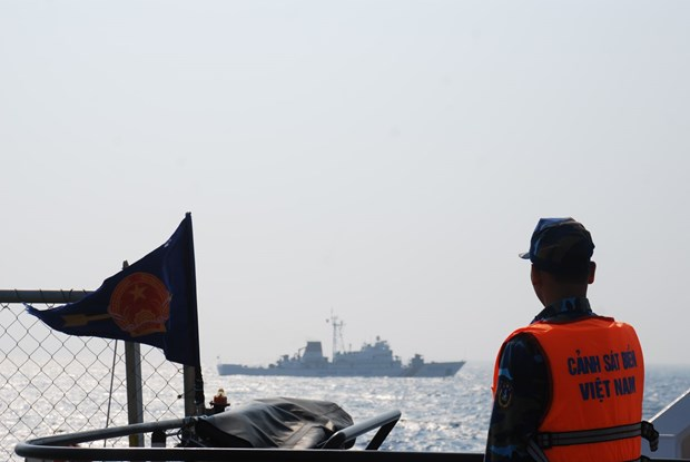 Coast Guard check Vietnam-China fishery agreement implementation hinh anh 1