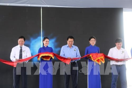Clean water plant inaugurated in Long An hinh anh 1