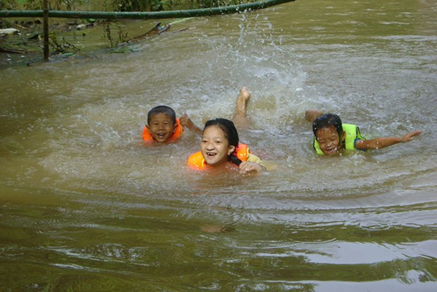 Int'l organisations help child drowning prevention in Dong Thap hinh anh 1