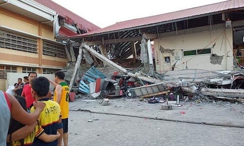 6.3-magnitude quake kills two in Philippines hinh anh 1