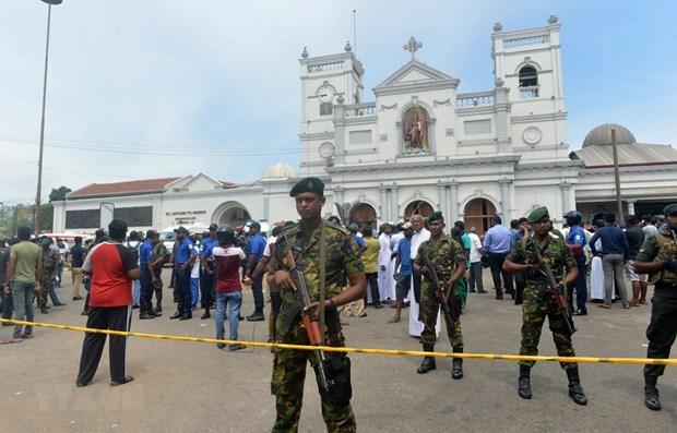 Vietnamese leaders convey condolences over bombing series in Sri Lanka hinh anh 1