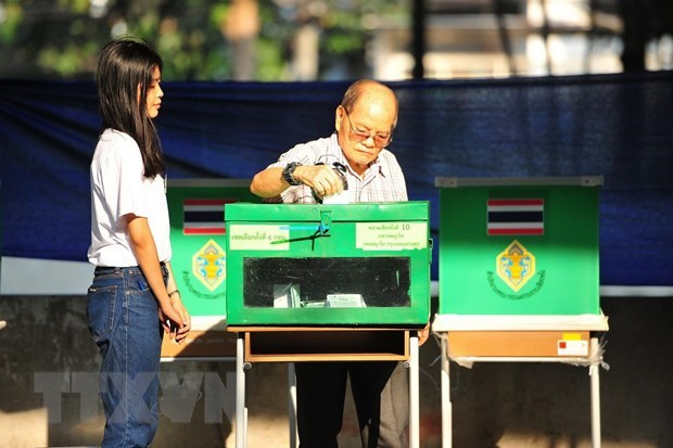 Thailand holds by-election in five provinces hinh anh 1
