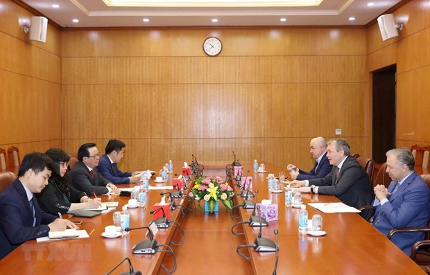 Russian Communist Party values ties with Communist Party of Vietnam hinh anh 1