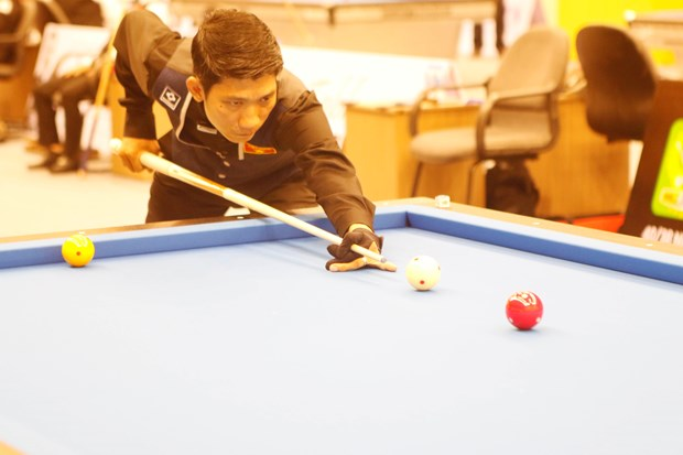Asian Carom Billiards Championship kicks off in HCM City hinh anh 1