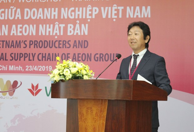 Workshop seeks to connect Vietnamese firms to AEON supply chain hinh anh 1
