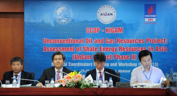 Asian countries cooperate to assess potential of shale oil and gas resources hinh anh 1