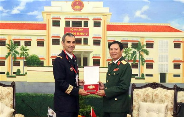 Army official: Vietnam values ties with int'l military sports council hinh anh 1