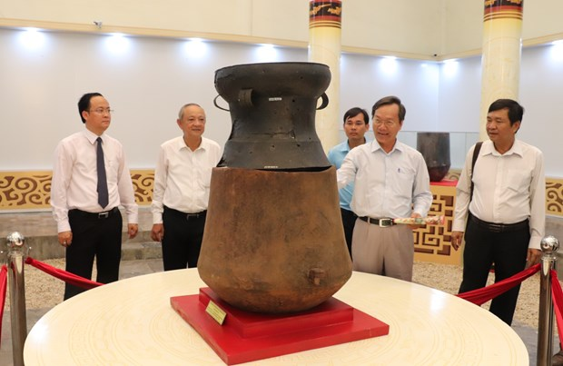 Binh Duong promotes archaeological values hinh anh 1