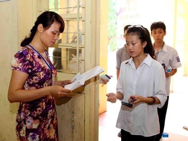 Over 886,000 students register for national high school exam 2019 hinh anh 1