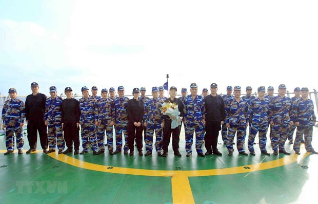 Vietnam, China begin fishery inspection in Gulf of Tonkin hinh anh 1