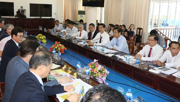 RoK firms inquire into business opportunities in Can Tho hinh anh 1