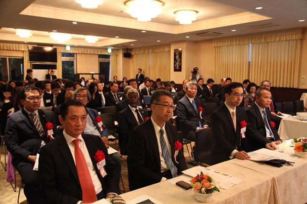 Vietnamese embassy hosts Asia-Africa 20 conference in Tokyo hinh anh 1