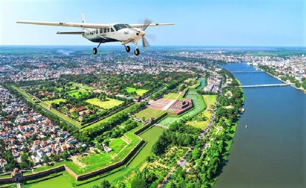 Hue – Da Nang seaplane flights launched hinh anh 1