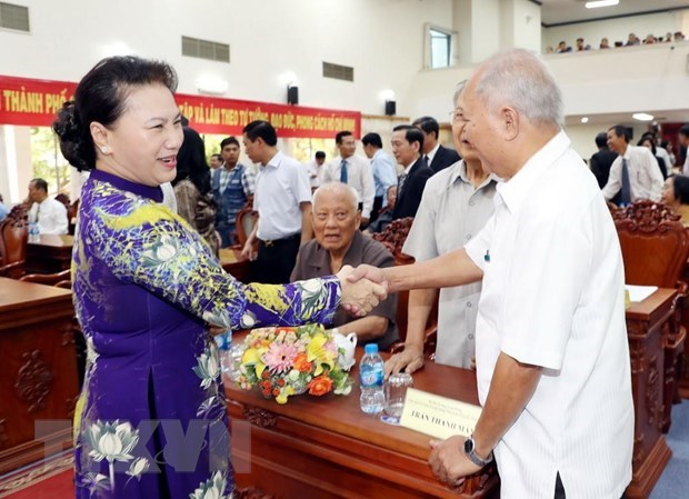 NA Chairwoman joins Can Tho's liberation celebration hinh anh 1