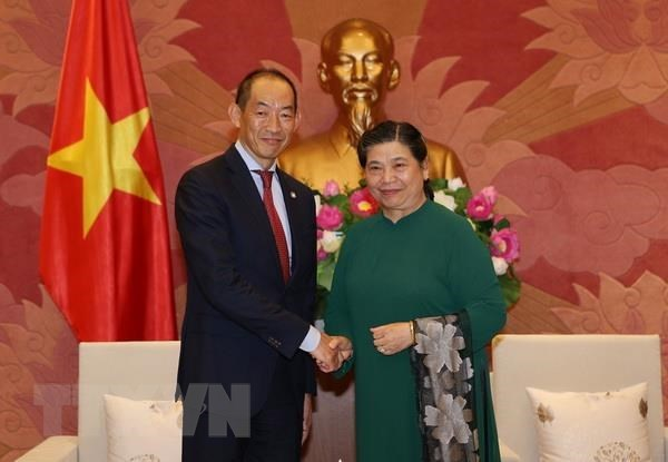 NA Vice Chairwoman lauds WHO's efforts in public health care hinh anh 1