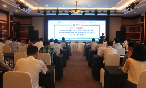 Quang Binh: Public assessment on administration services released hinh anh 1