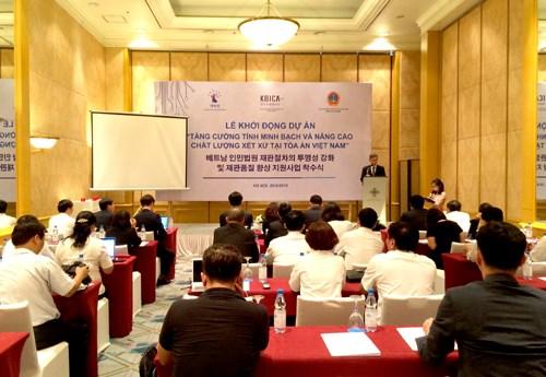 RoK helps Vietnam accelerate judicial reform hinh anh 1