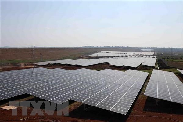 Quang Ngai province has first solar power plant hinh anh 1