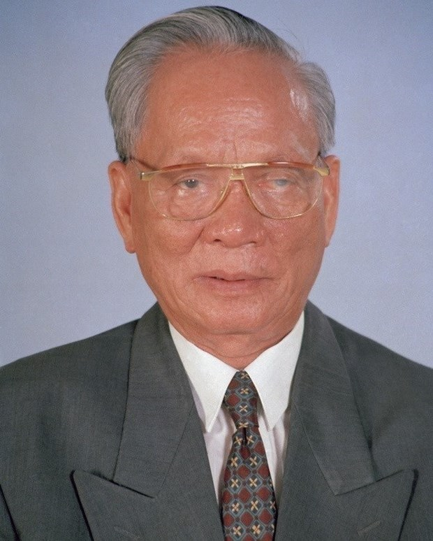 Special communique on former President Le Duc Anh's passing away hinh anh 1