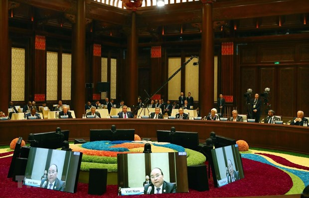 PM values efforts to promote international connectivity at Belt and Road Forum hinh anh 1