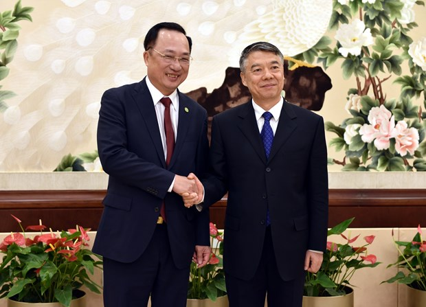 Vietnamese, Chinese public security bodies boost cooperation hinh anh 1