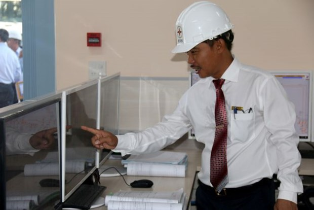 Power management centre launched on Phu Quy Island hinh anh 1