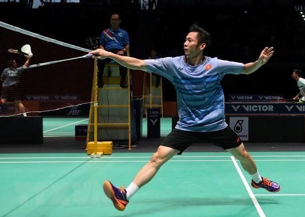 Nguyen Tien Minh wins Asian badminton bronze hinh anh 1