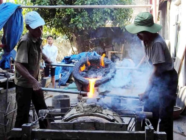 Thanh Hoa province launches bronze drum casting contest hinh anh 1