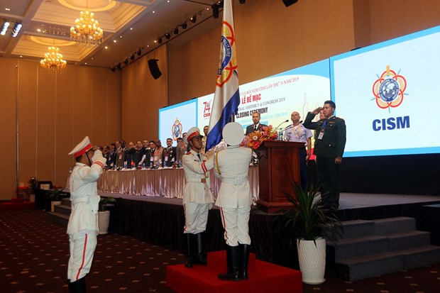Int'l military sports council concludes 74th general assembly in HCM City hinh anh 1