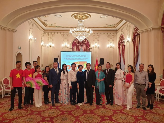 National Reunification Day marked in Russia hinh anh 1