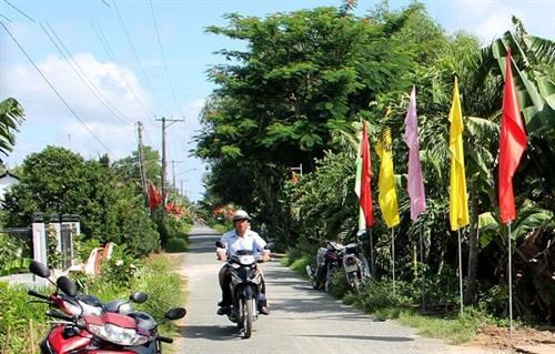 Tra Vinh province has first new-style rural district hinh anh 1