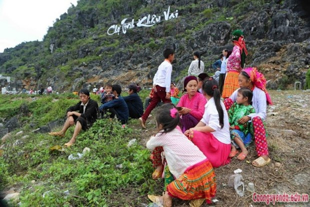 100th Khau Vai Love Market opens in Ha Giang hinh anh 1