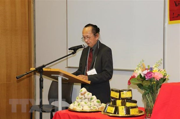 Hung Kings' death anniversary held in Canada hinh anh 1