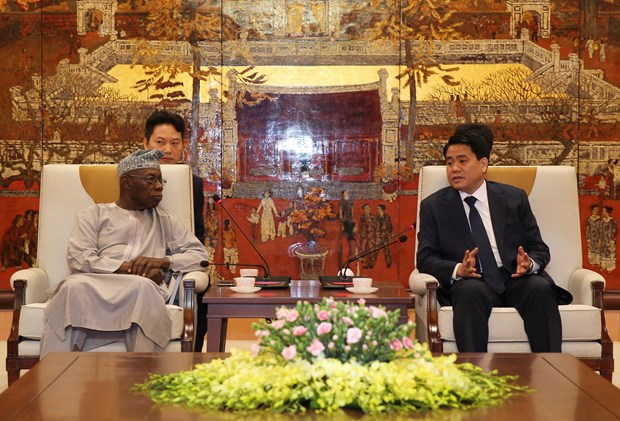 Hanoi shares economic development with Africa hinh anh 1