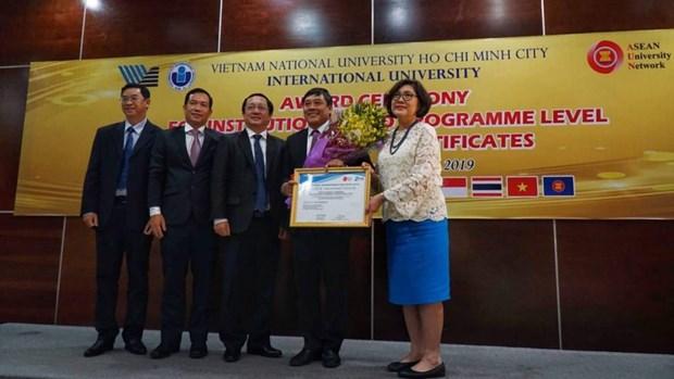 HCM City's International University gains AUN-QA accreditation hinh anh 1