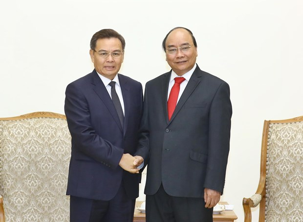 Prime Minister receives Lao, Cambodian guests hinh anh 2
