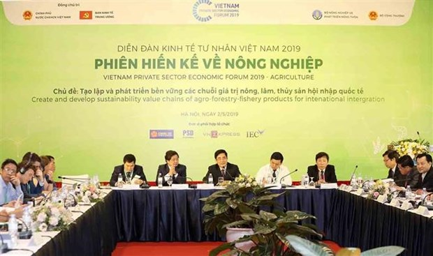 Vietnam Private Sector Economic Forum focuses on value chains hinh anh 1