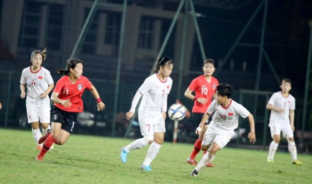 U19 women's football team to play friendly in China hinh anh 1