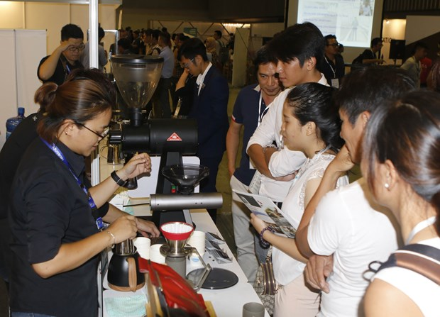 Vietnam Cafe Show 2019 opens in HCM City hinh anh 1