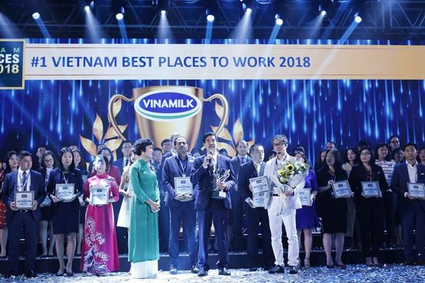 Vinamilk keeps status as top working place in Vietnam hinh anh 1
