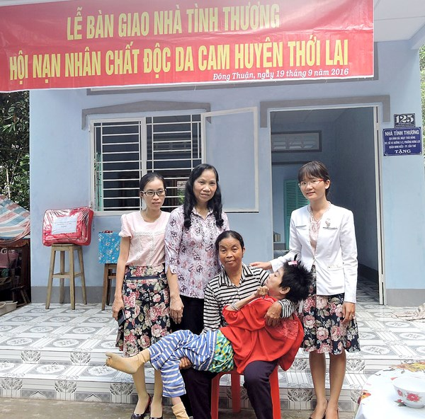 Can Tho spends over 3 billion VND on caring for AO/dioxin victims hinh anh 1