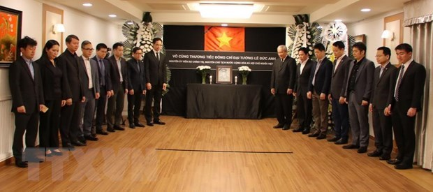 Respect-paying services held for former President around the globe hinh anh 1