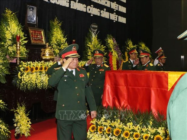 Over 1,000 delegations pay homage to former President Le Duc Anh hinh anh 1